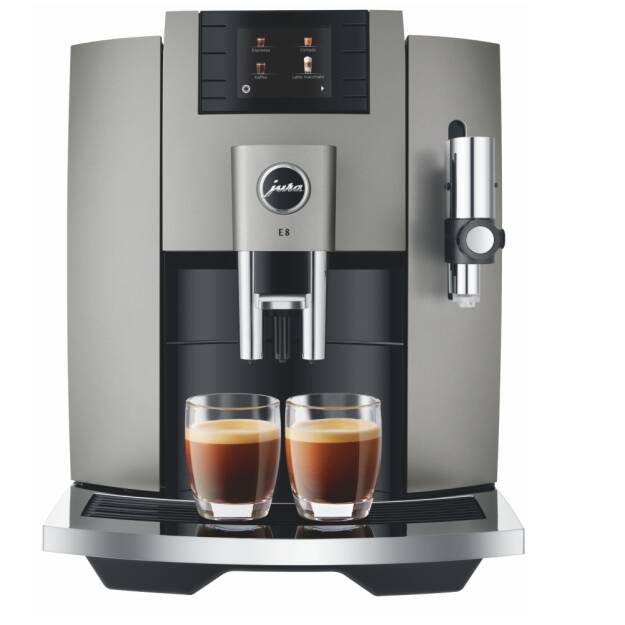 NOWY MODEL •  JURA E8 Dark Inox (EB)